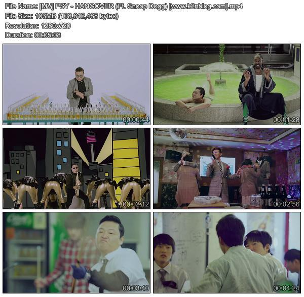 PSY – HangOver ft. Snoop Dogg (MP3 + Video)