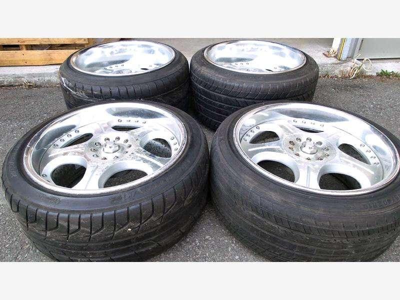 SSR VEILSIDE ANDREW D Alloy Rims wheels 18x10J 12J 5x114 S14 RX7