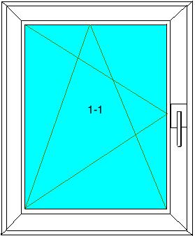 Pivotant basculant kipp l fen tre pvc veka softline 82 for Fenetre veka