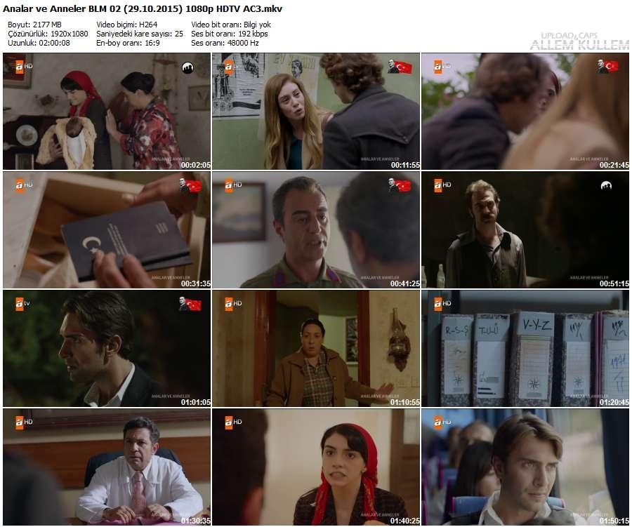 Analar ve Anneler 2.Bölüm (29.10.2015) 1080p HDTV AC3