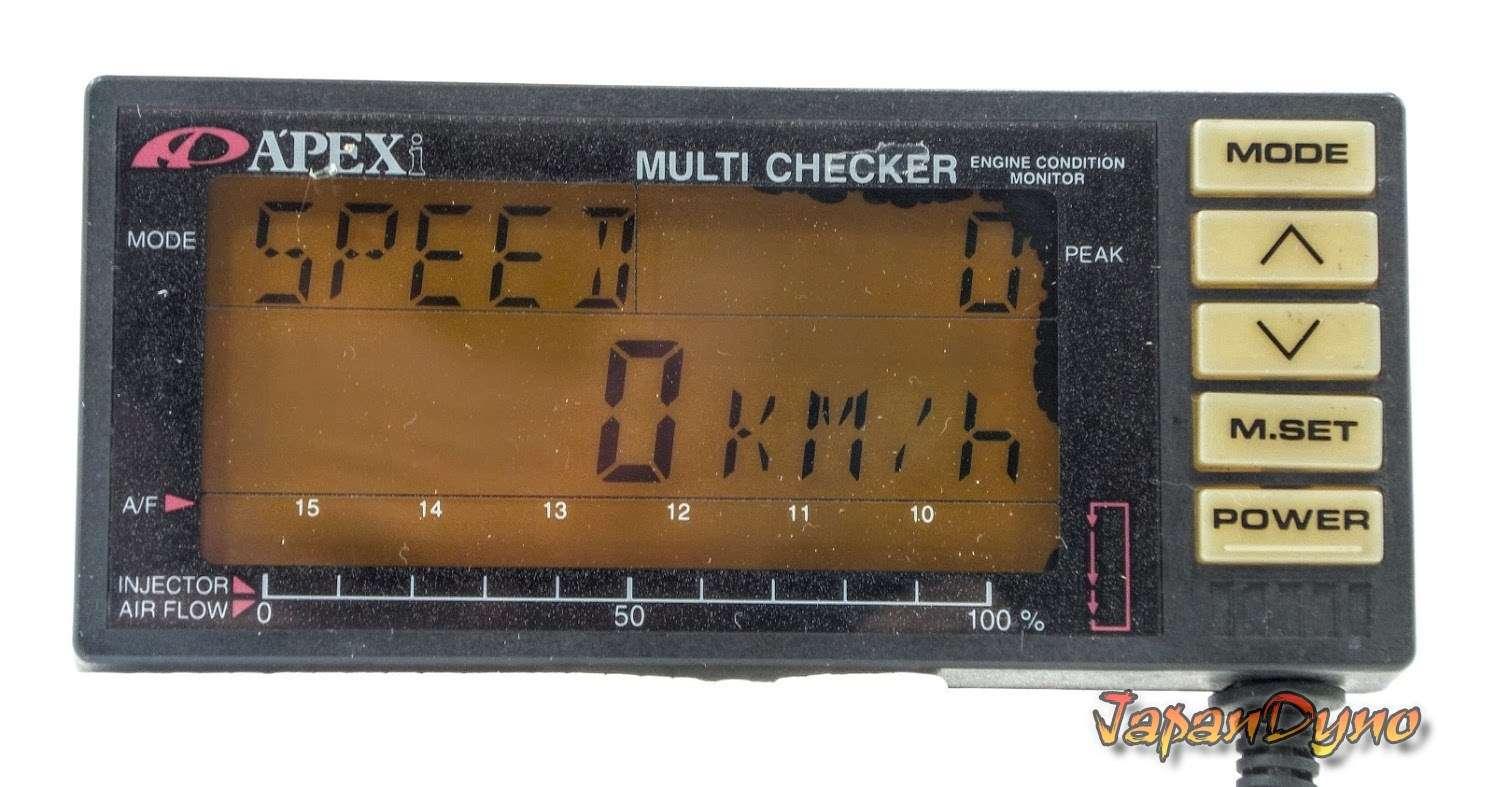 Apexi Multichecker power meter  Multi checker S13 S14 300ZX R32