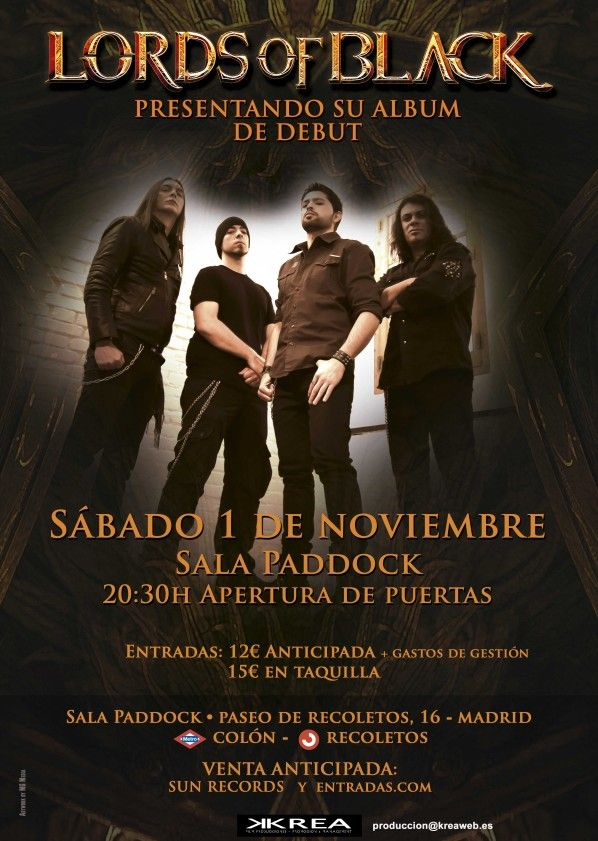 Lords of Black. Cartel Madrid