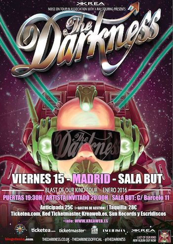 The Darkness - Madrid