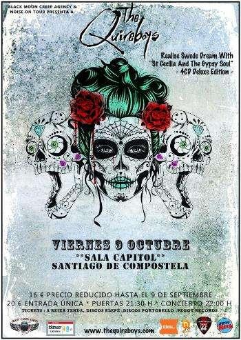 The Quireboys - Santiago