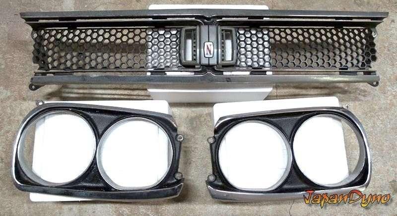 OEM Nissan Skyline GTR hakosuka KPGC10 front grill