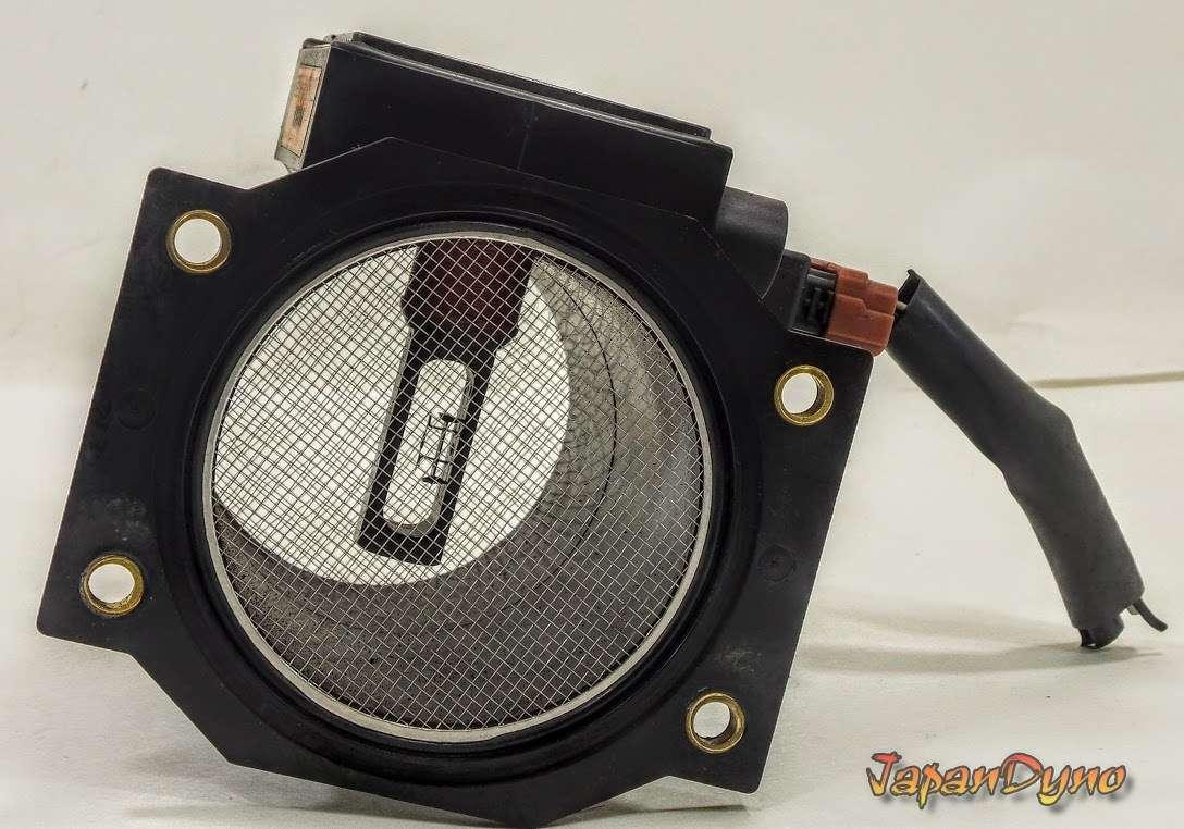 NISSAN 300ZX VG30DETT Z32 AFM Air flow meter + harness plug S14