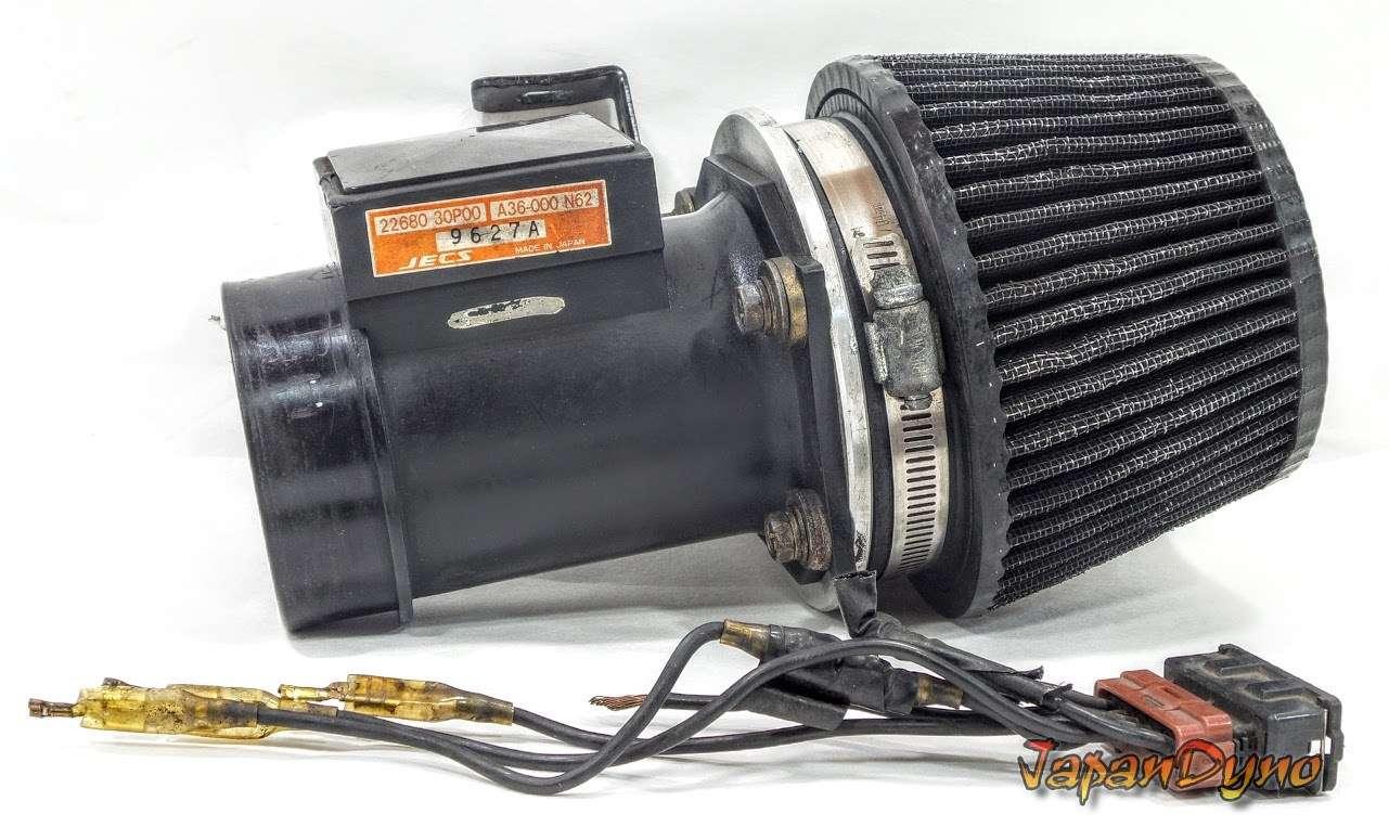 NISSAN 300ZX VG30DETT Z32 AFM Air flow meter +Filter S13 S14 R33
