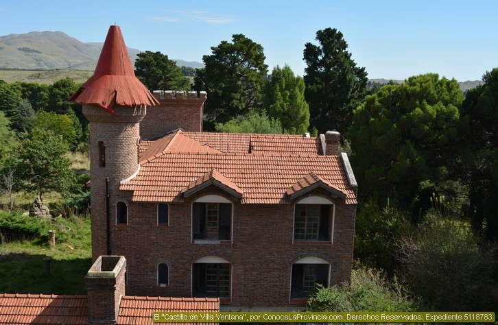 El castillo de villa ventana tornquist fotos donde queda Villa jardin donde queda
