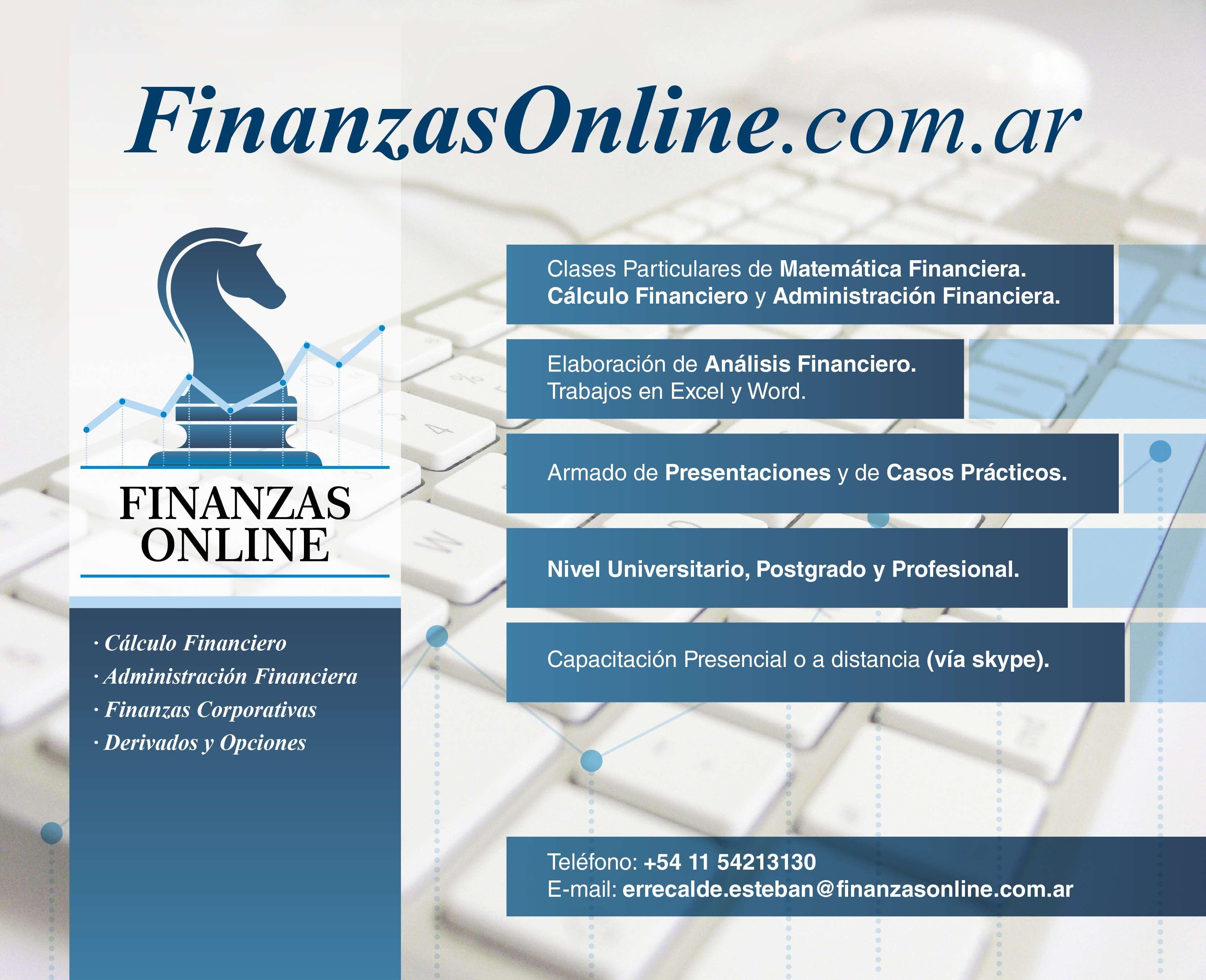 Imagen Finanzas Online