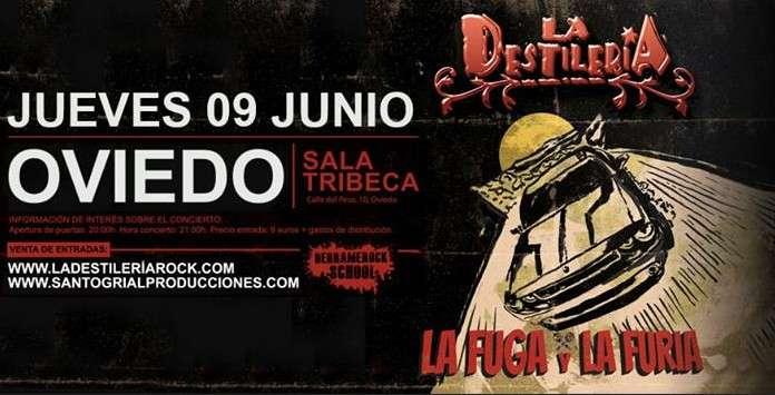 La Destilería Oviedo - cartel