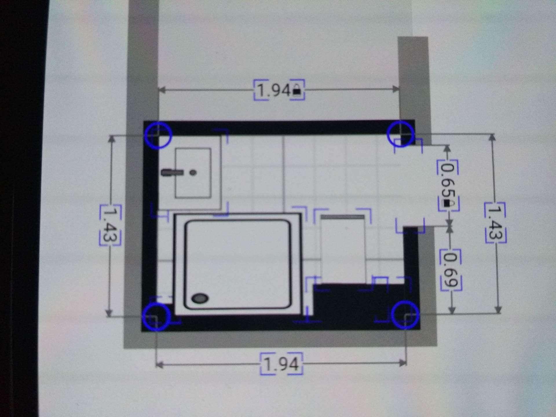 Mała łazienka 194x143 Projektowanie Wnętrz Forum