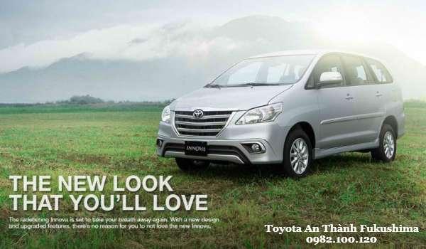 Gia xe Toyota Innova 2016 Phien ban nang cap dam chat the thao