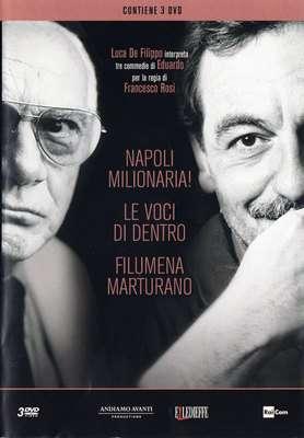 Luca De Filippo interpreta tre commedie di Eduardo per la regia di Francesco Rosi (2016) 2xDVD9+1xDVD5 Copia 1:1 ITA
