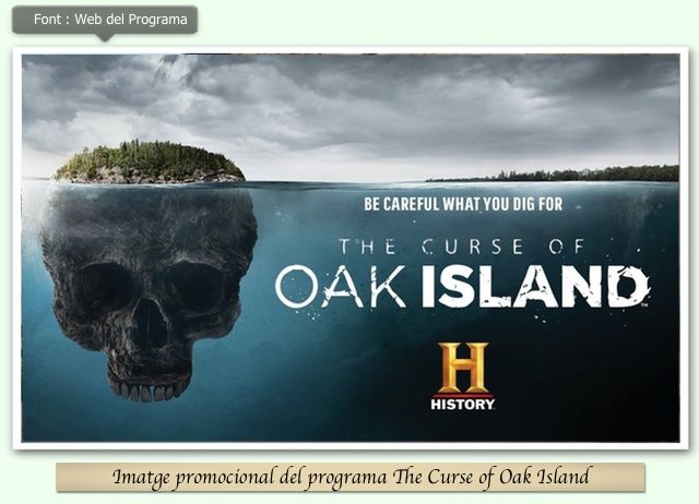 The Curse of Oak Island Logo