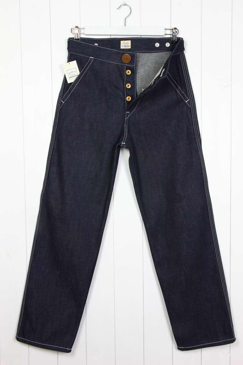 NEW LEE JAPAN VINTAGE BUDDY WORK PANTS JEANS 1920' DRY/RAW ...
