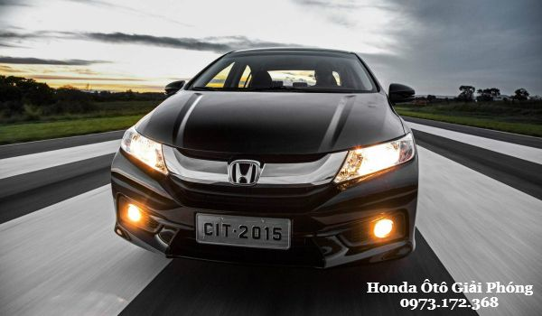 Honda City 2016 Ve dep an tuong tu thiet ke moi