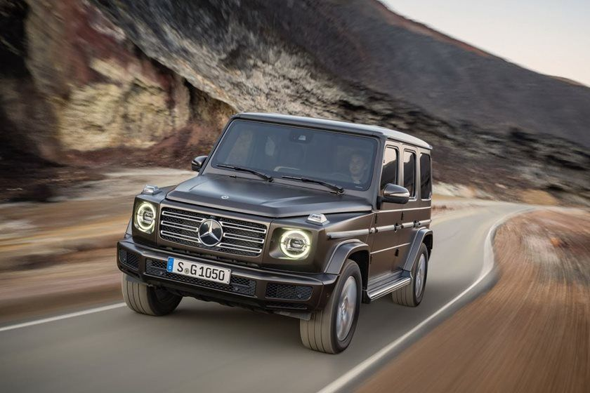 Mercedes benz introduces the new 2019 g550 g wagon for New mercedes benz g wagon