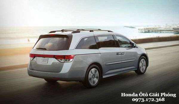 Honda Odyssey 2016 Thu linh tren phan khuc thi truong