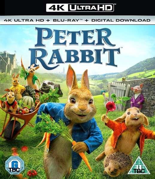 Triušis Piteris / Peter Rabbit (2018) [BDRip LT] Nuotykių, Komedija, Šeimai, Animacinis