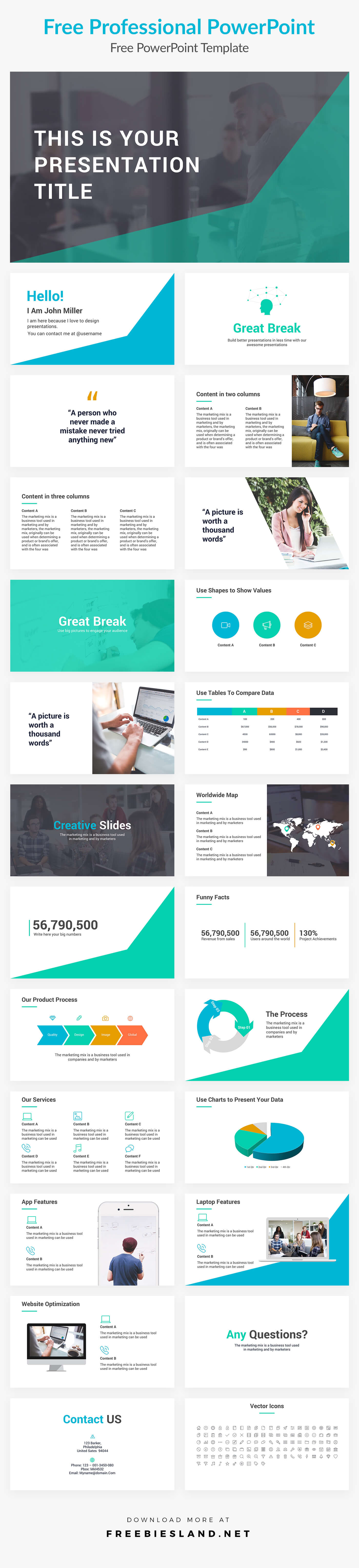 Professional Free Powerpoint Templates