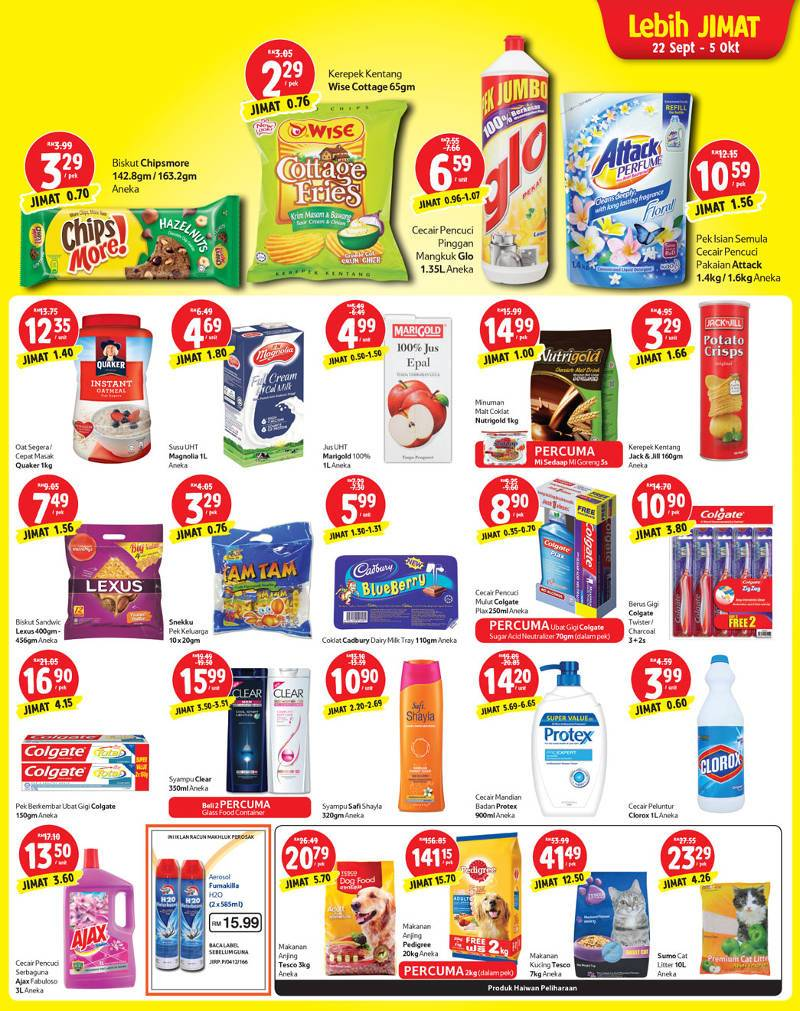 tesco promotion mix
