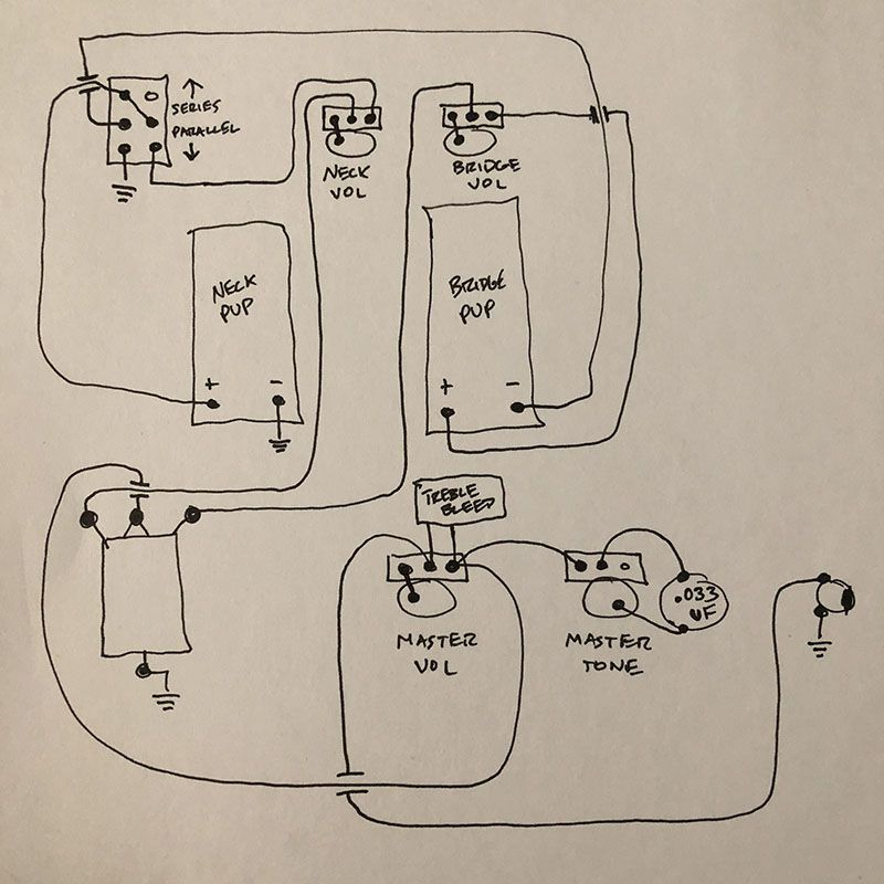 Jazzmaster Wiring Series Parrallel With Diagram on