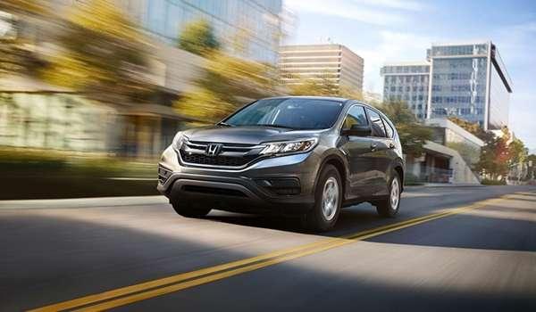 Honda CRV 2016 - Kiểu dáng đẹp & bắt mắt mới