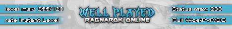 Well Played Ragnarok Online