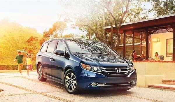 Honda Odyssey 2016 - Ra mắt diện mạo ấn tượng mới