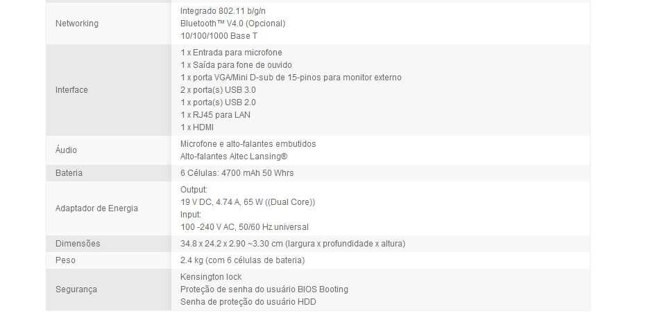 Asus K45VM-VX104Q - Tela 14