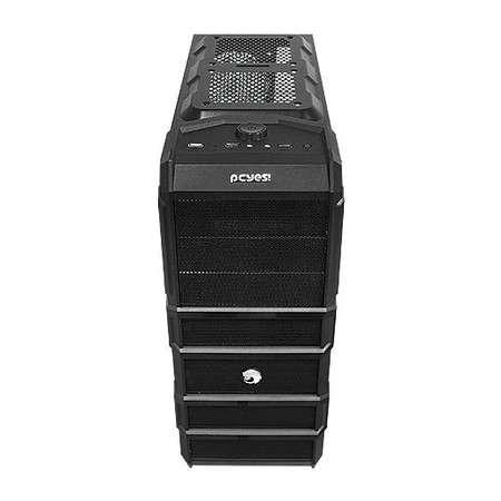 Gabinete Gamer Pcyes Rhino - Janela lateral - USB