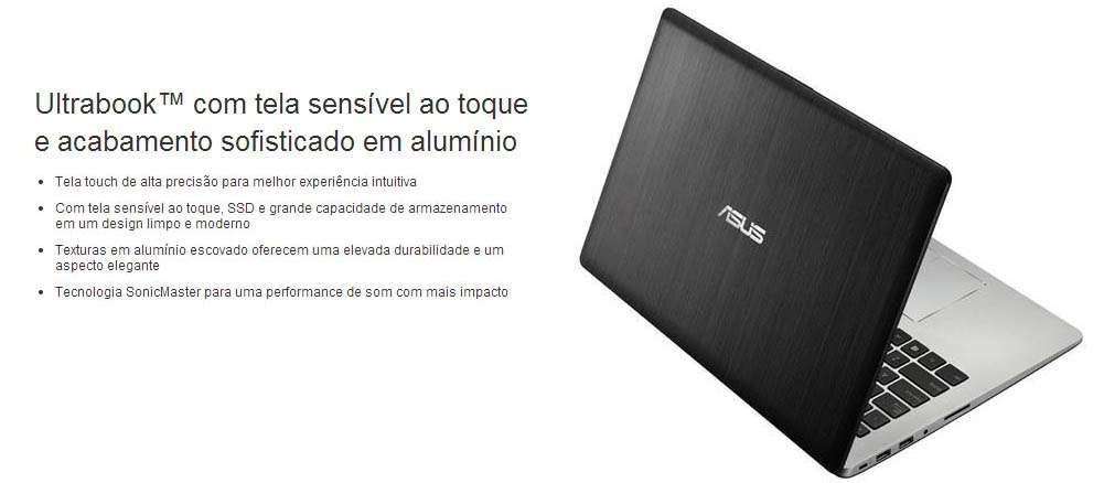 Asus Vivobook S400CA-CA186H - Tela 14