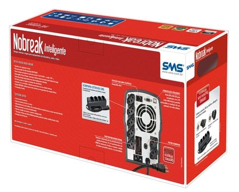 No-Break SMS 1800VA - uNW E1800BIFX Net Winner Exp