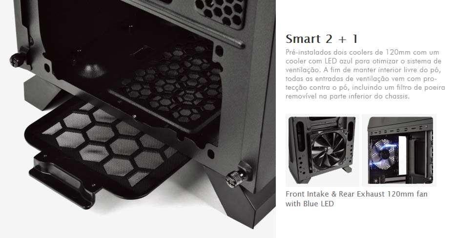 Gabinete Thermaltake Chaser A31 - USB 3.0 - Janela