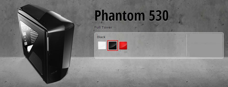 Gabinete NZXT Phantom 530 - USB 3.0 - Janela Later
