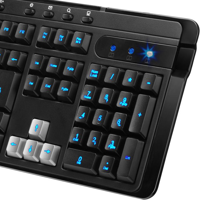 Teclado Genius Gamer Wired KB-G255 - Teclas Ilumin