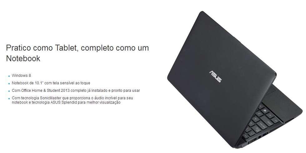 Asus X102BA-DF044H - Tela 10.1