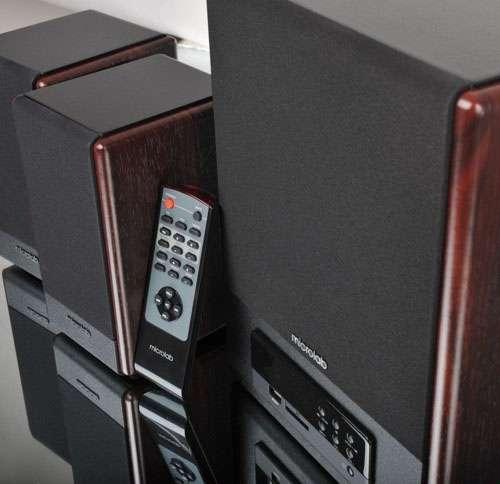 Caixa de Som 2.1 Microlab FC-530U - 65W RMS - Deta