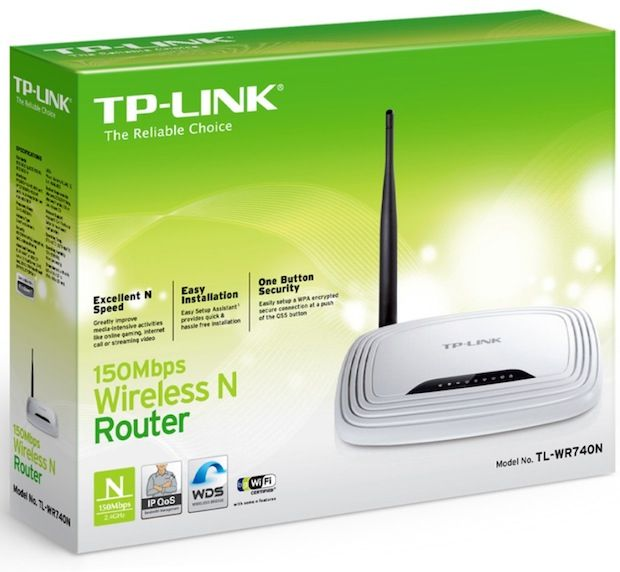 Roteador Wireless TP-Link TL-WR740N - 150Mbps - an