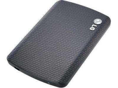 HD Externo 500GB LG XD7 - USB 3.0 - Preto - HXD7S5