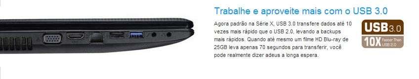 Asus X55U-SX037H - Tela 15.6