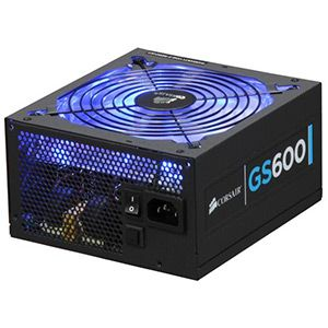 Fonte Corsair 600W Gaming Series GS600 - Eficiênci