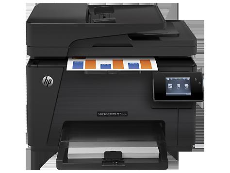 Multifuncional HP LaserJet Pro M177FW - Copiadora,