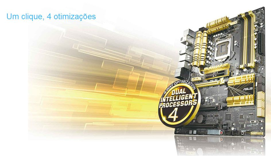 Asus Z87-Deluxe - (LGA 1150 - DDR3 1600) Chipset I