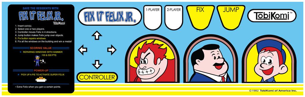 Fix It Felix Jr Art files I am giving away [Archive] - KLOV/VAPS ...