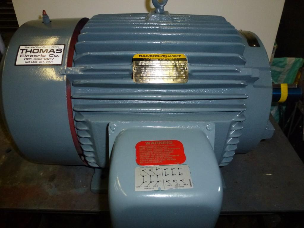 40 hp 1800 rpm 324 6t baldor tefc motor severe duty for Inverter duty motor specification