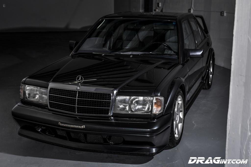 1980 Mercedes Benz 190 Series Evolution 2 146 Black