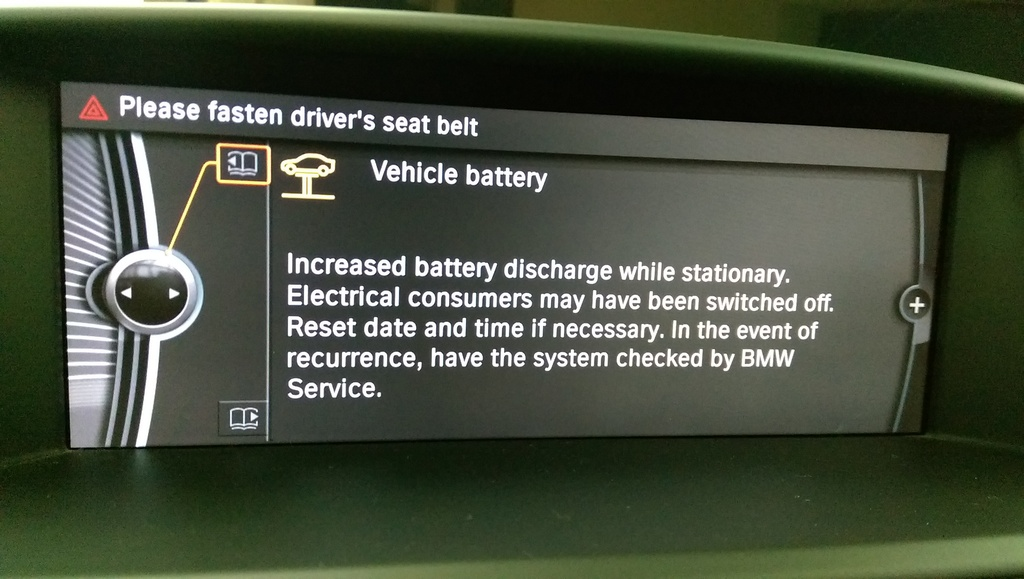 Increased Battery Discharge