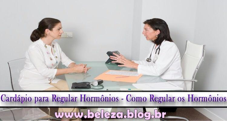 Cardápio para Regular Hormônios