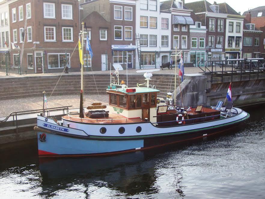 Sleepboot elisabeth te koop for Buitentrap te koop